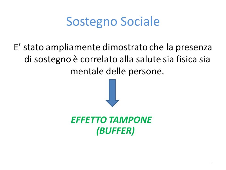 EFFETTO TAMPONE (BUFFER)