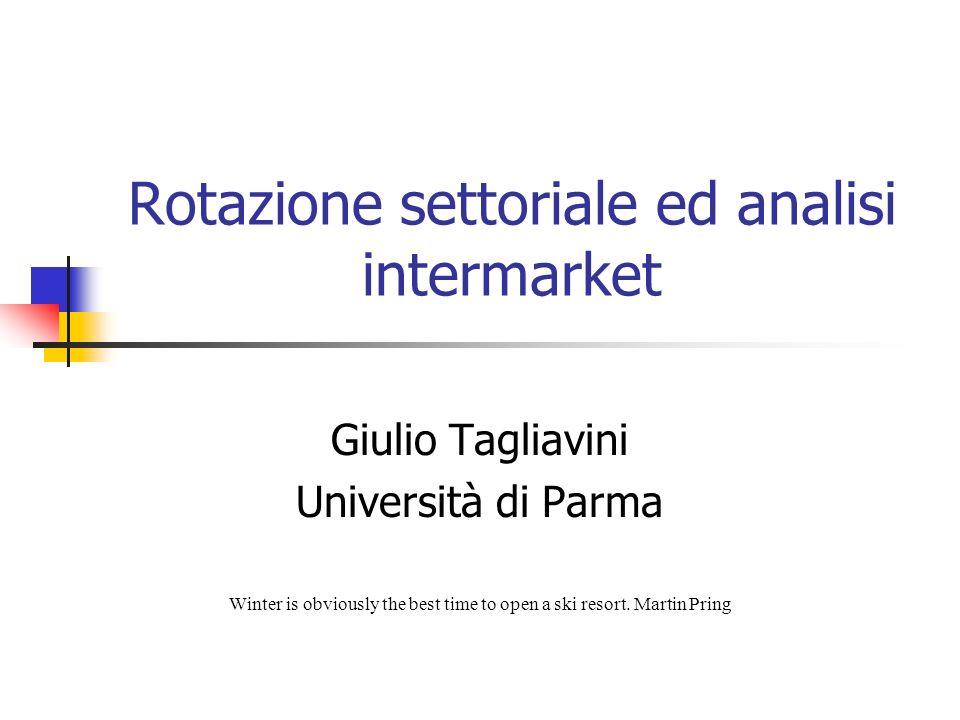 Rotazione settoriale ed analisi intermarket