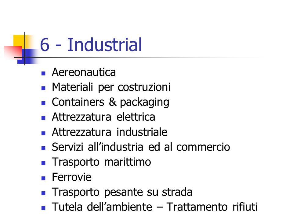 6 - Industrial Aereonautica Materiali per costruzioni