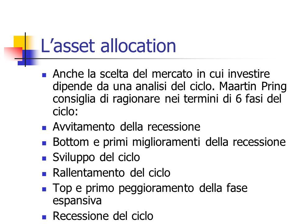 L'asset allocation