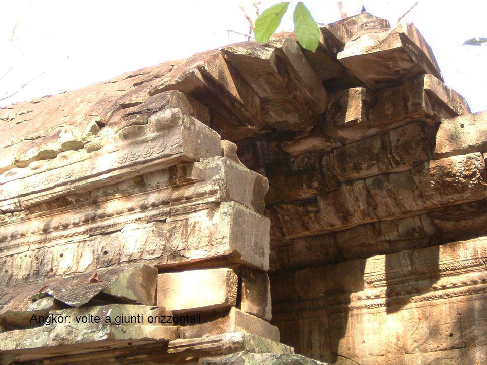 Angkor: volte a giunti orizzontali