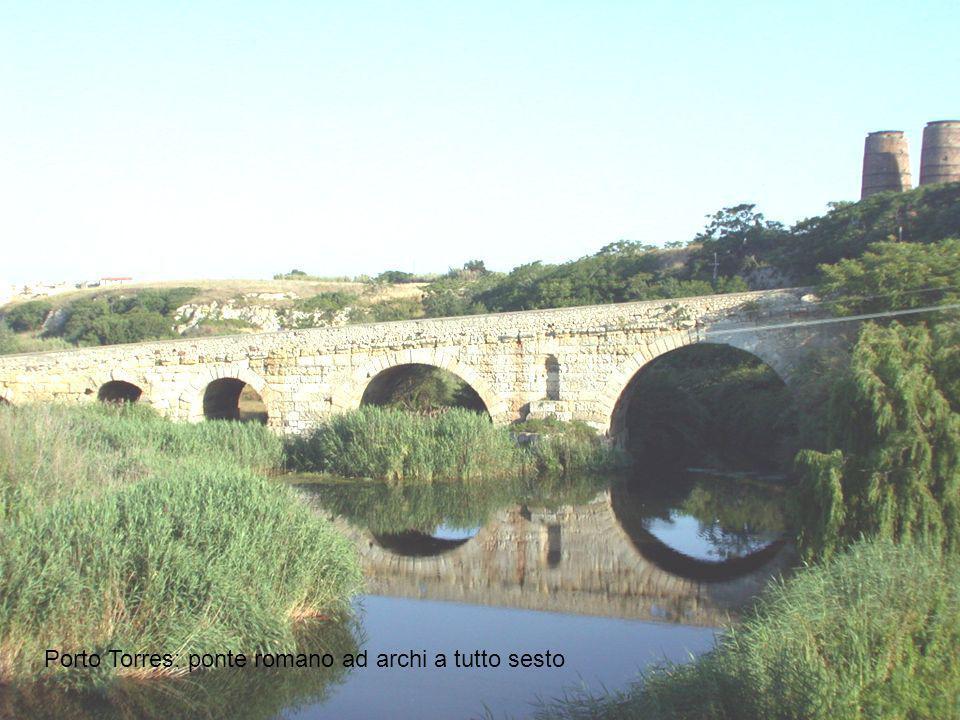 Porto Torres: ponte romano ad archi a tutto sesto