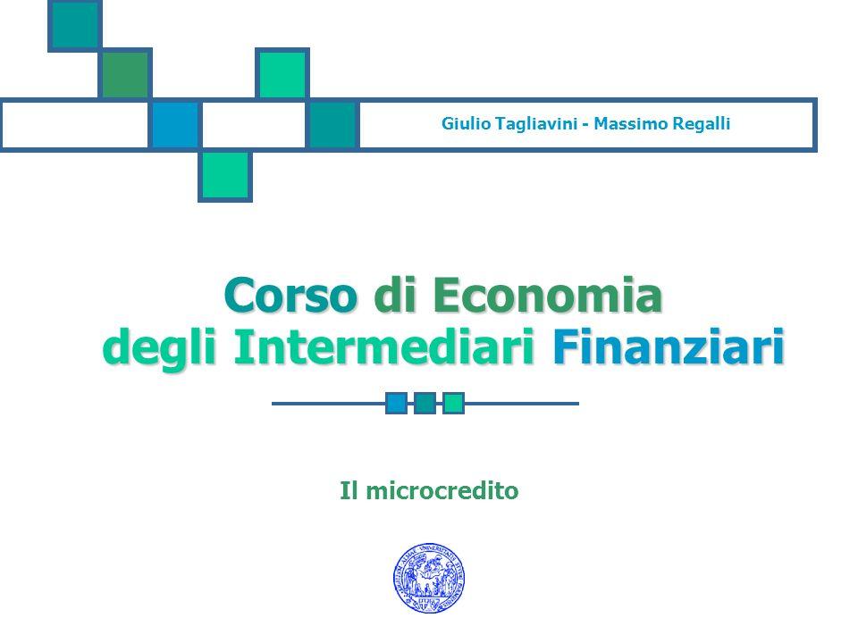 Corso di Economia degli Intermediari Finanziari
