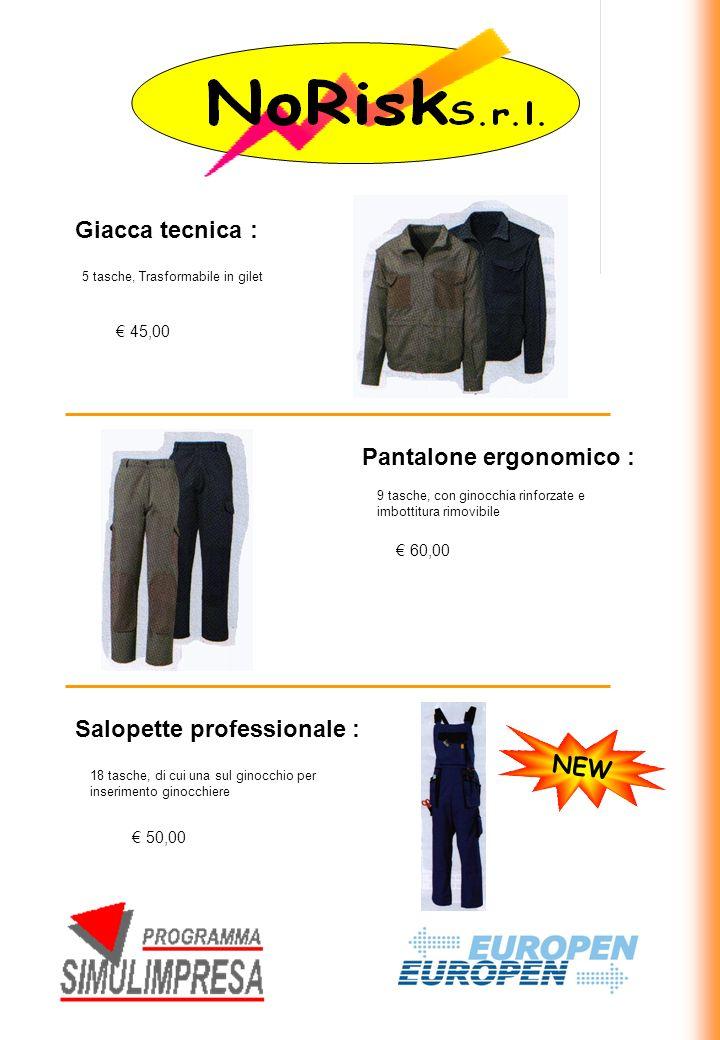 Pantalone ergonomico :