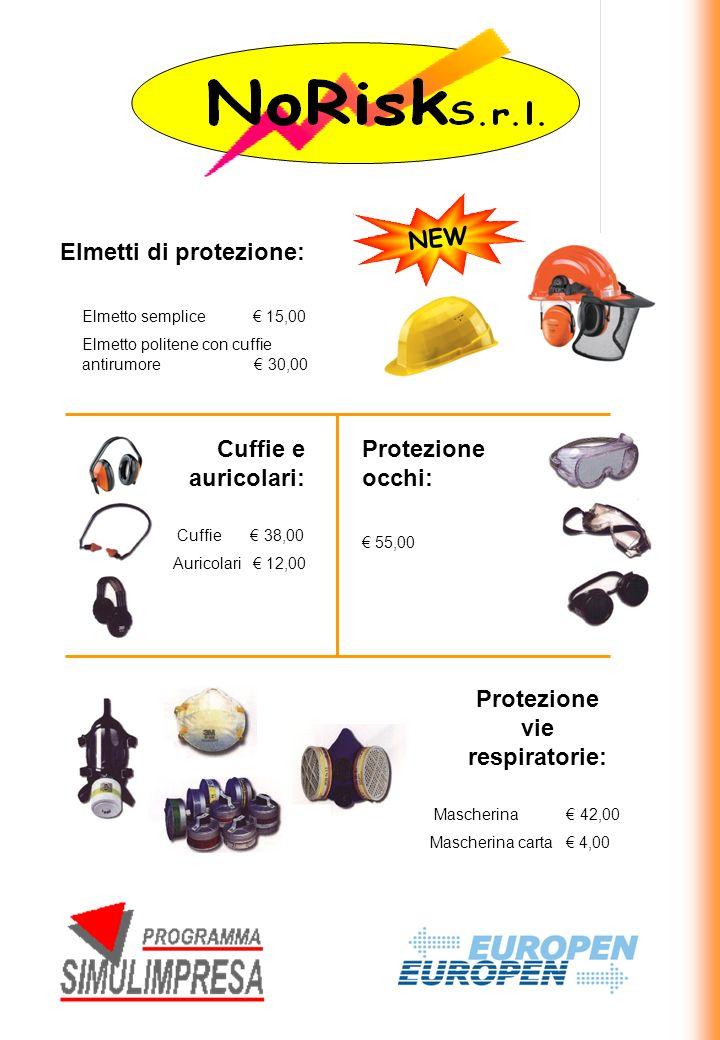 Protezione vie respiratorie: