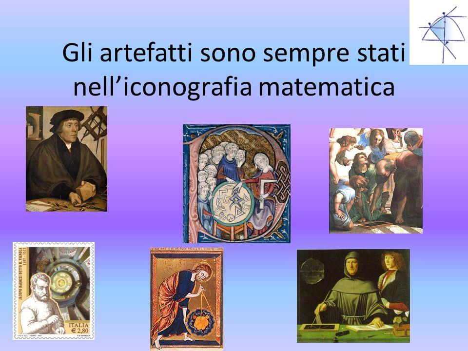 Gli artefatti sono sempre stati nell'iconografia matematica