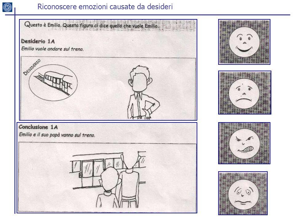 Riconoscere emozioni causate da desideri
