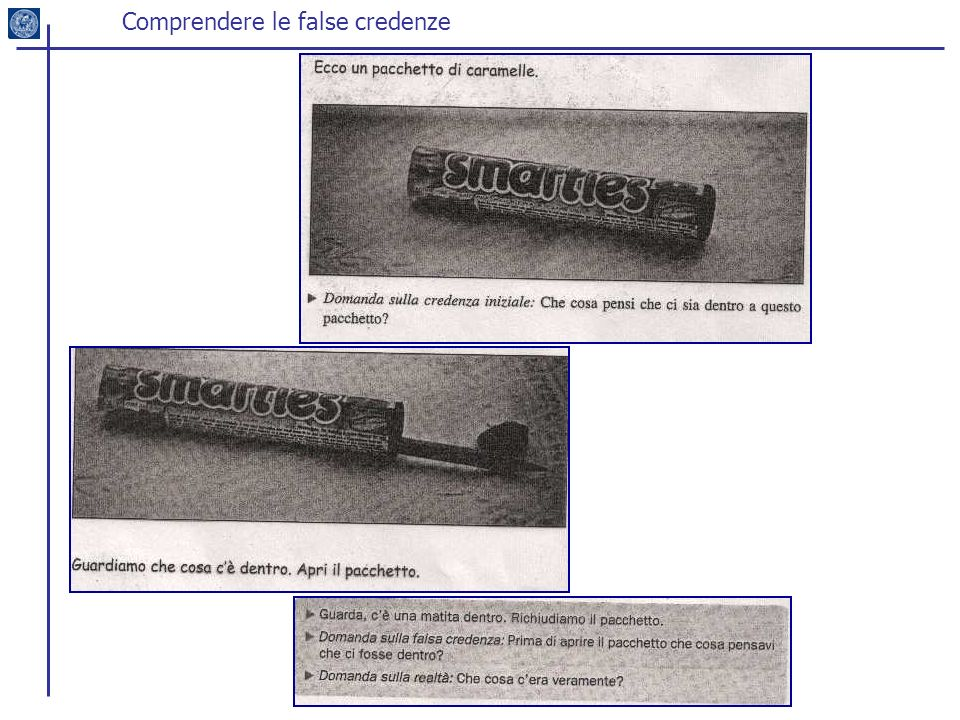 Comprendere le false credenze