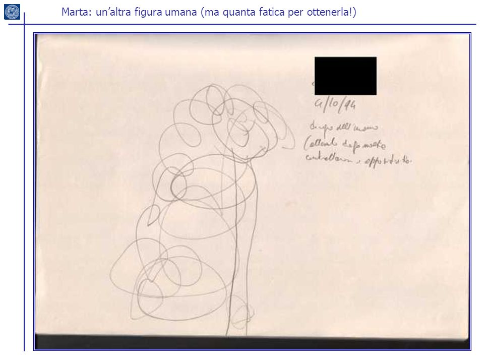 Marta: un'altra figura umana (ma quanta fatica per ottenerla!)
