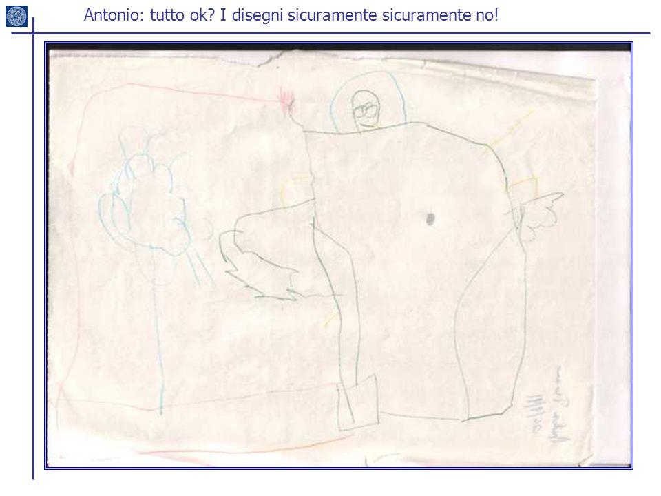 Antonio: tutto ok I disegni sicuramente sicuramente no!