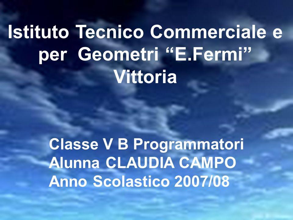 Istituto Tecnico Commerciale e per Geometri E.Fermi