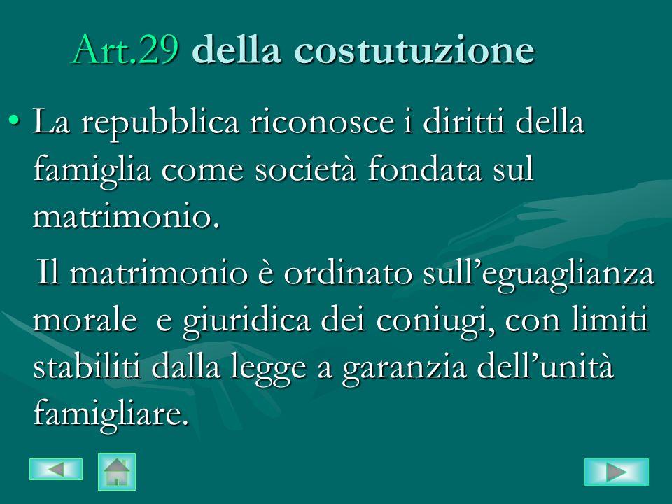 Art.29 della costutuzione