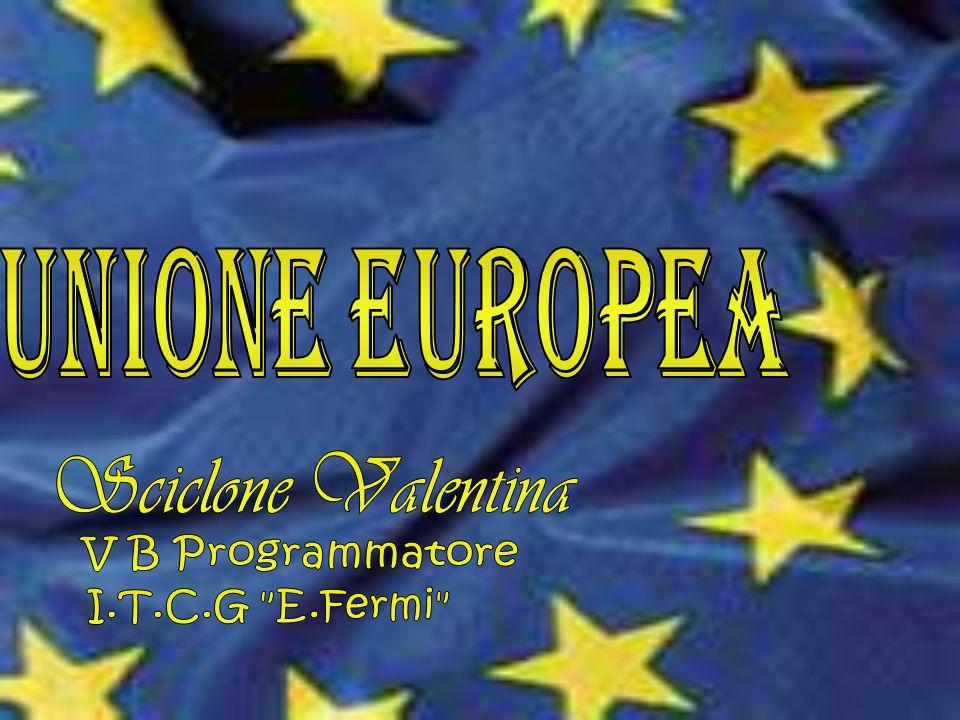 Unione Europea Sciclone Valentina V B Programmatore I.T.C.G E.Fermi