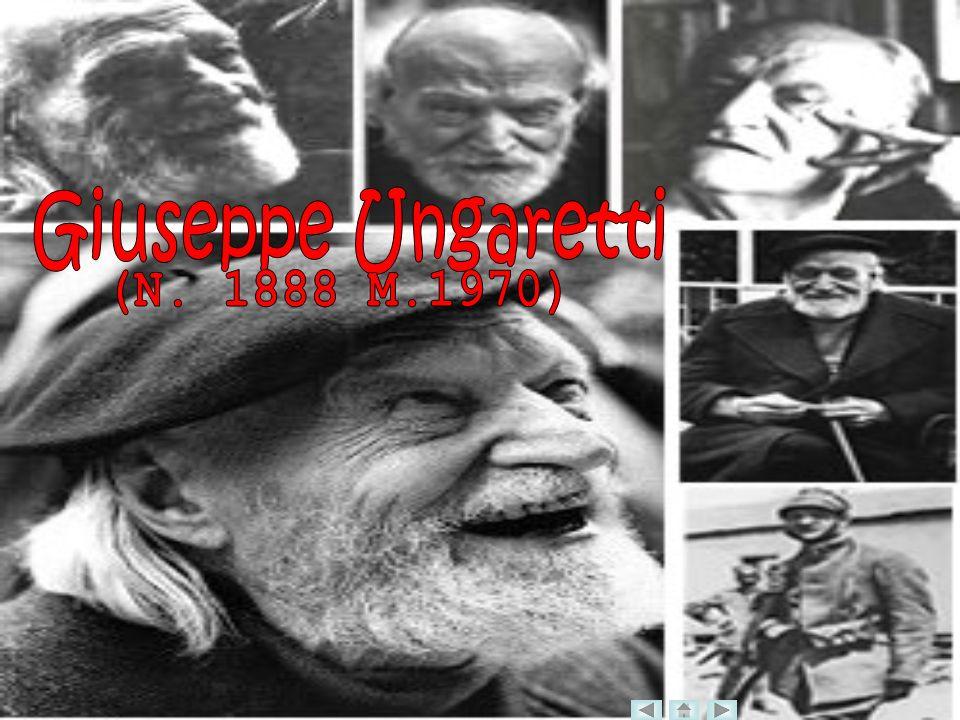 Giuseppe Ungaretti (N. 1888 M.1970)