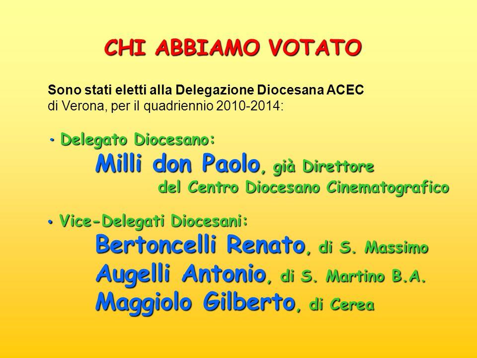 Milli don Paolo, già Direttore