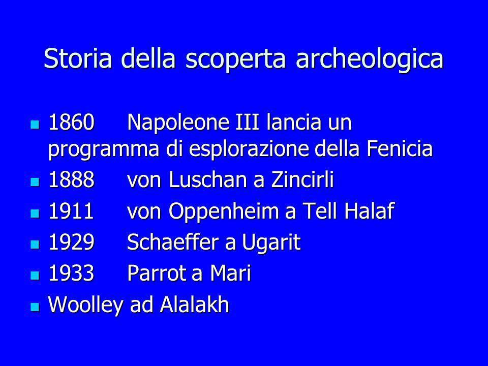 Storia della scoperta archeologica