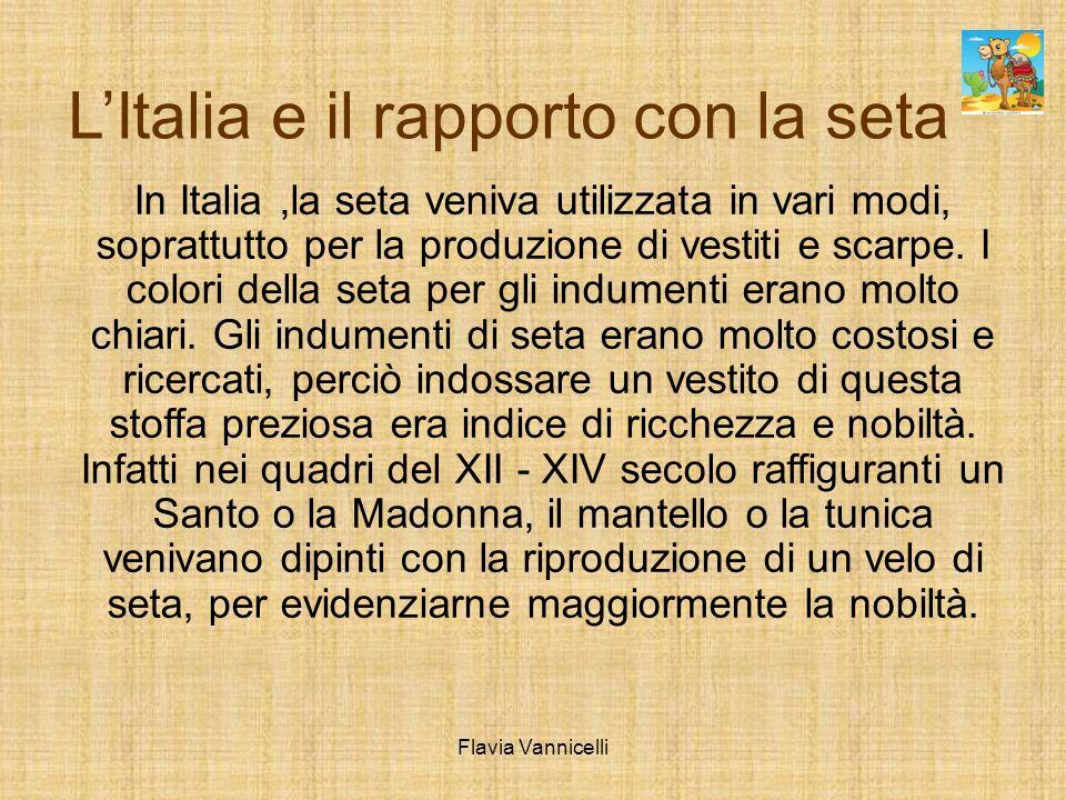 L'Italia e il rapporto con la seta