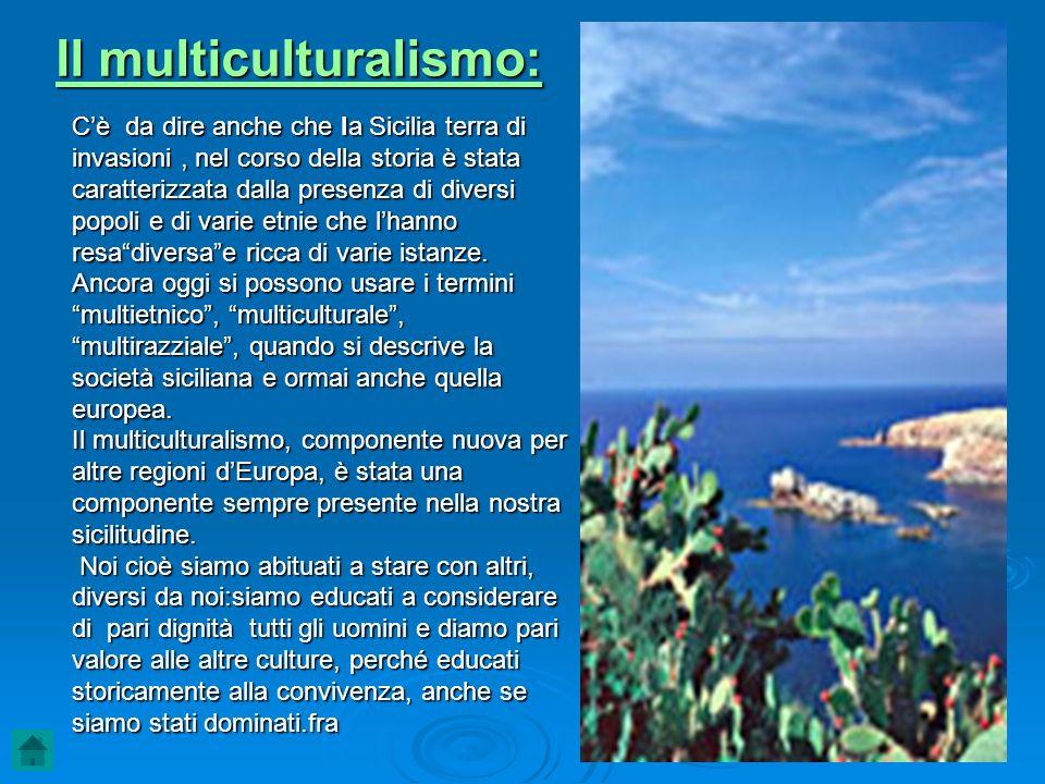 Il multiculturalismo: