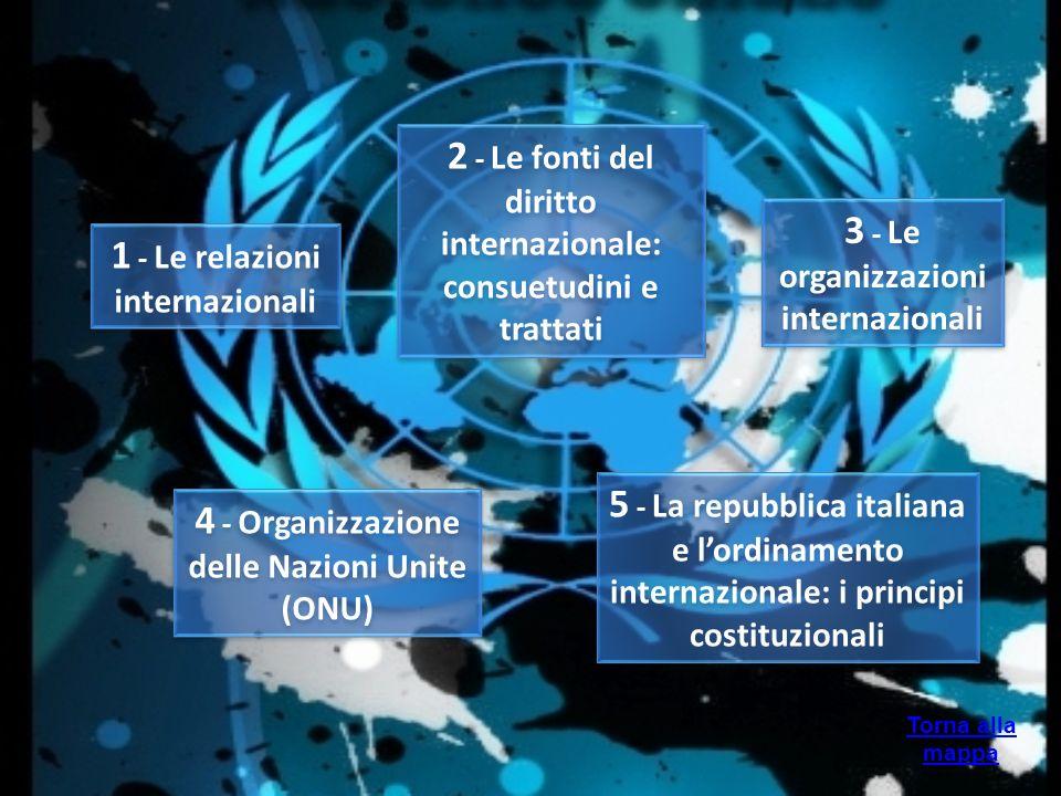 2 - Le fonti del diritto internazionale: consuetudini e trattati