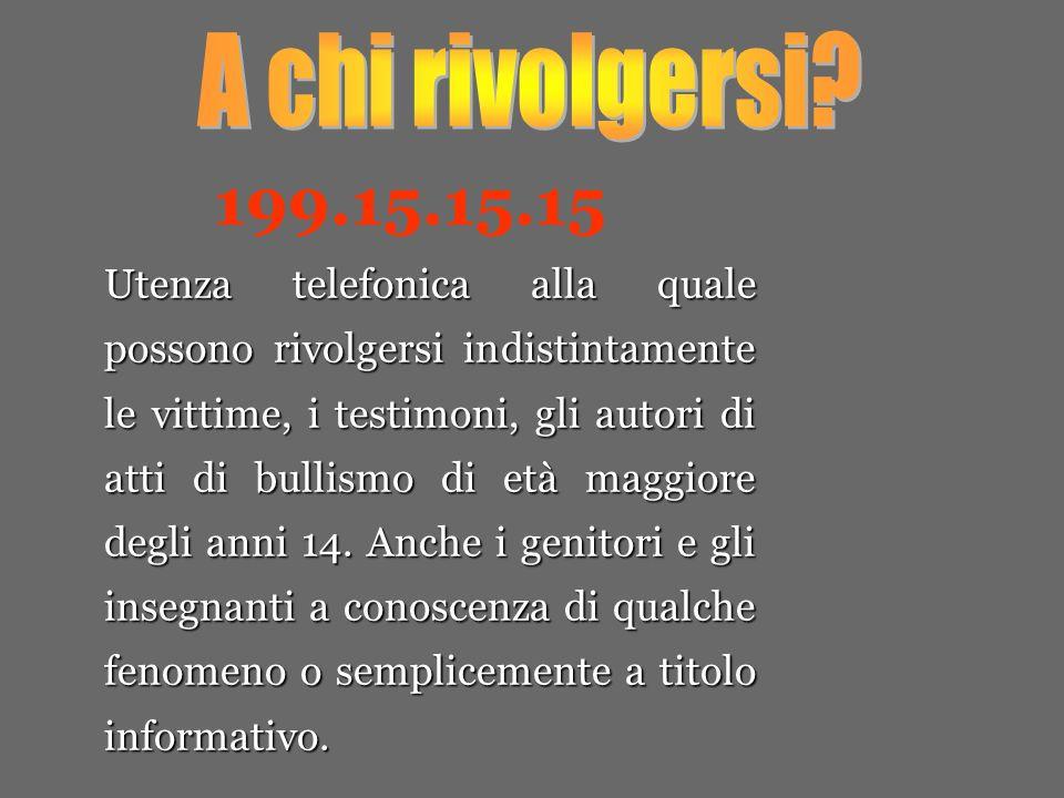 A chi rivolgersi 199.15.15.15.