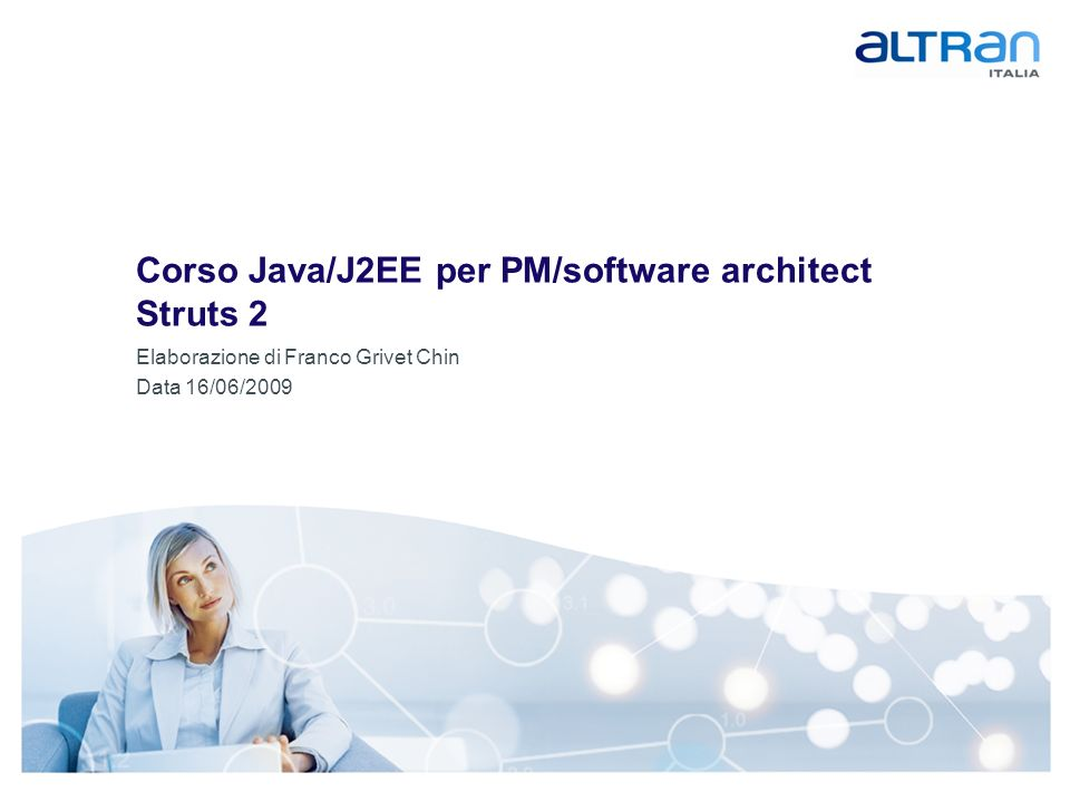 Corso Java/J2EE per PM/software architect Struts 2
