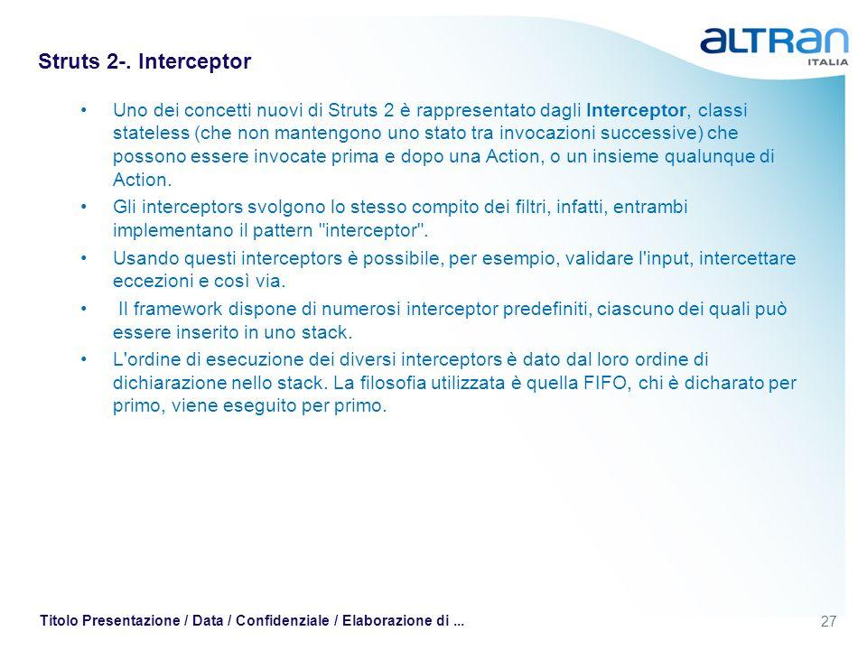 Struts 2-. Interceptor