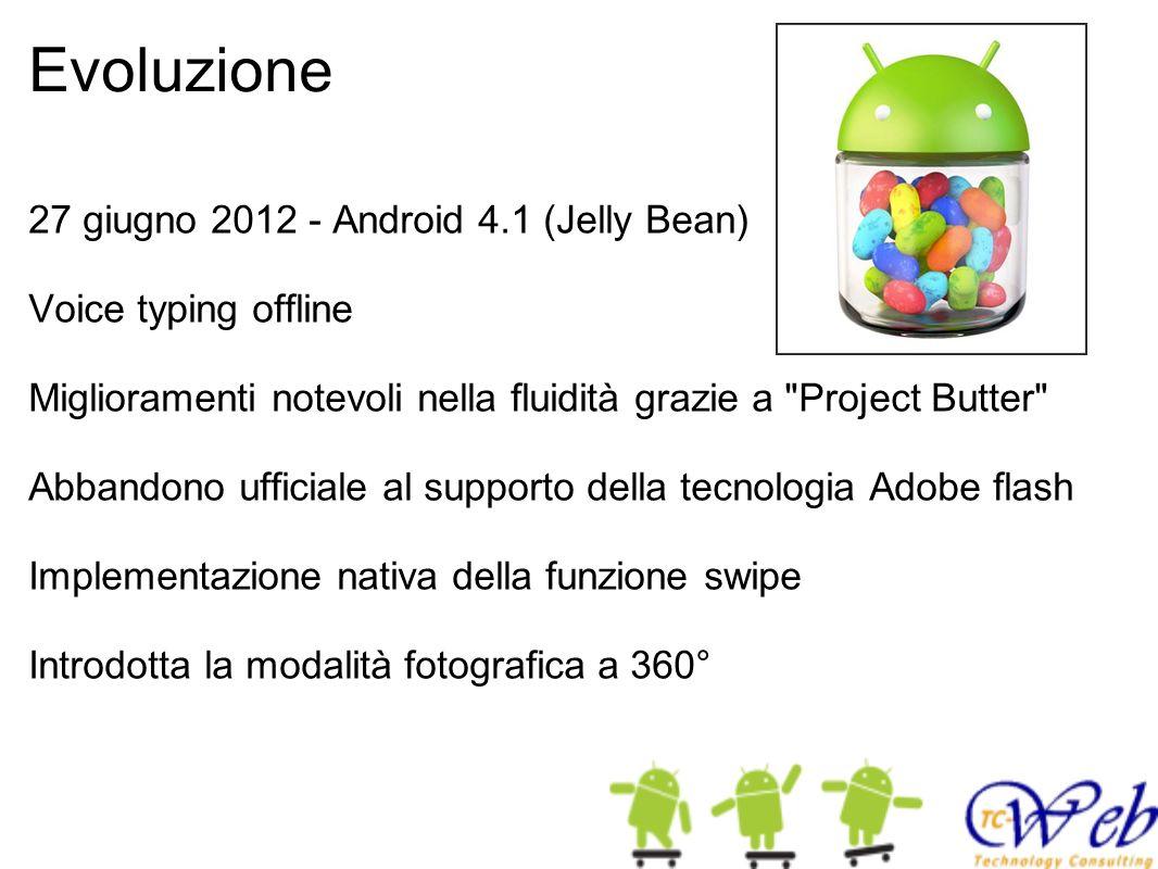 Evoluzione 27 giugno 2012 - Android 4.1 (Jelly Bean)