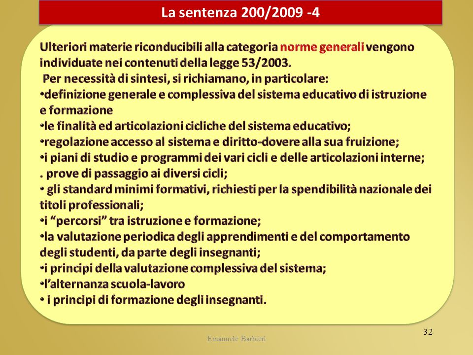 CIDI 5.05.2009La sentenza 200/2009 -4.