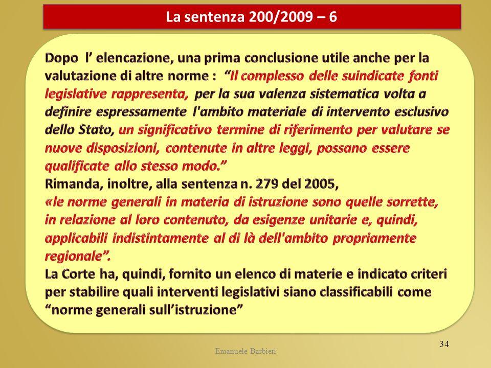 CIDI 5.05.2009La sentenza 200/2009 – 6.