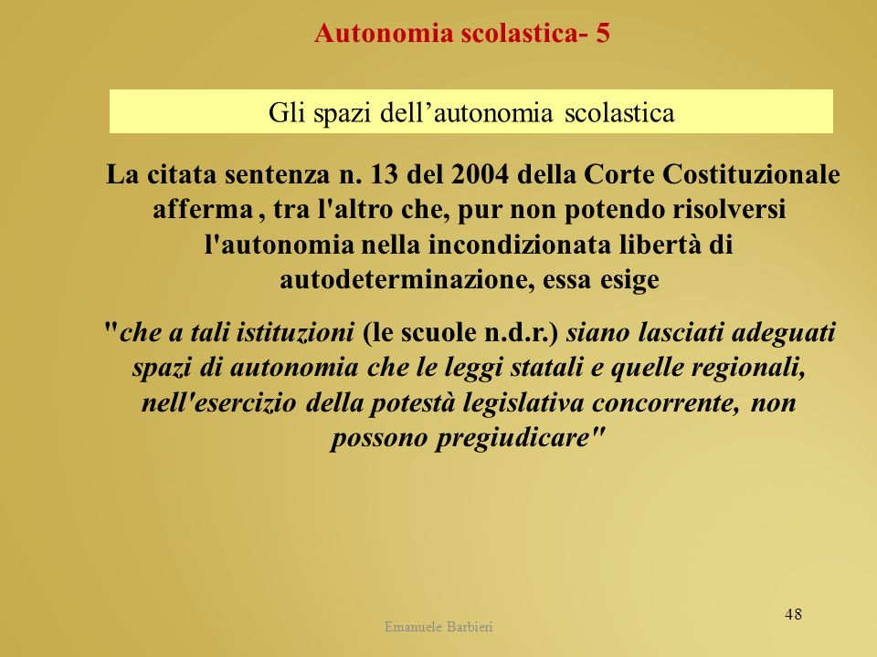 Autonomia scolastica- 5