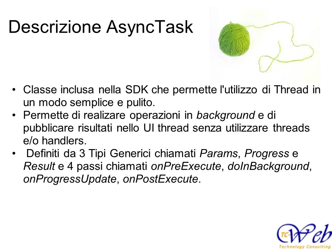 Descrizione AsyncTask