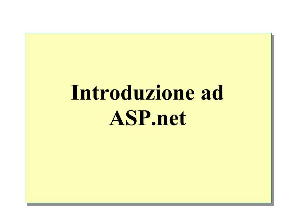 Introduzione ad ASP.net