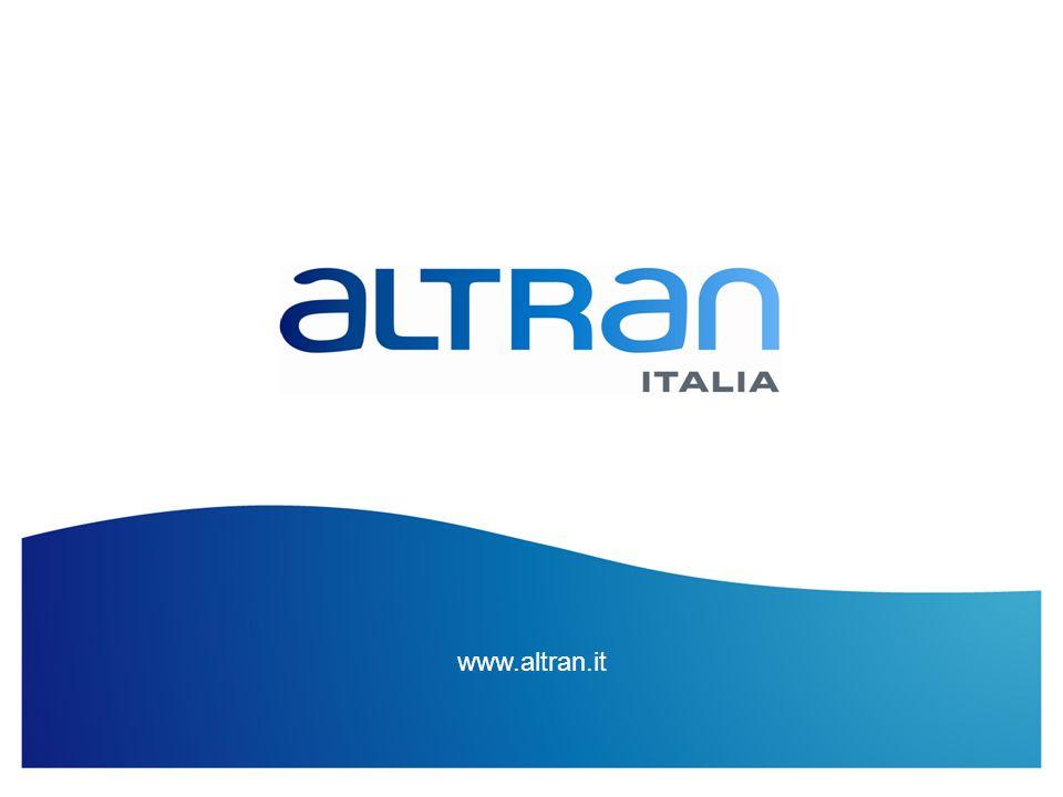 www.altran.it Titolo Presentazione / Data / Confidenziale / Elaborazione di ...