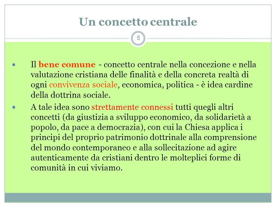Un concetto centrale5.