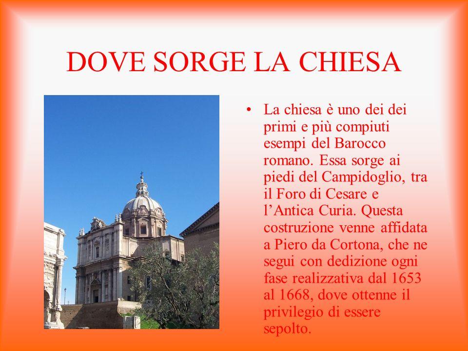 DOVE SORGE LA CHIESA