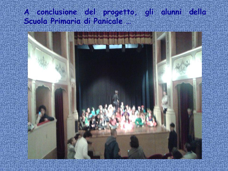 A conclusione del progetto, gli alunni della Scuola Primaria di Panicale …