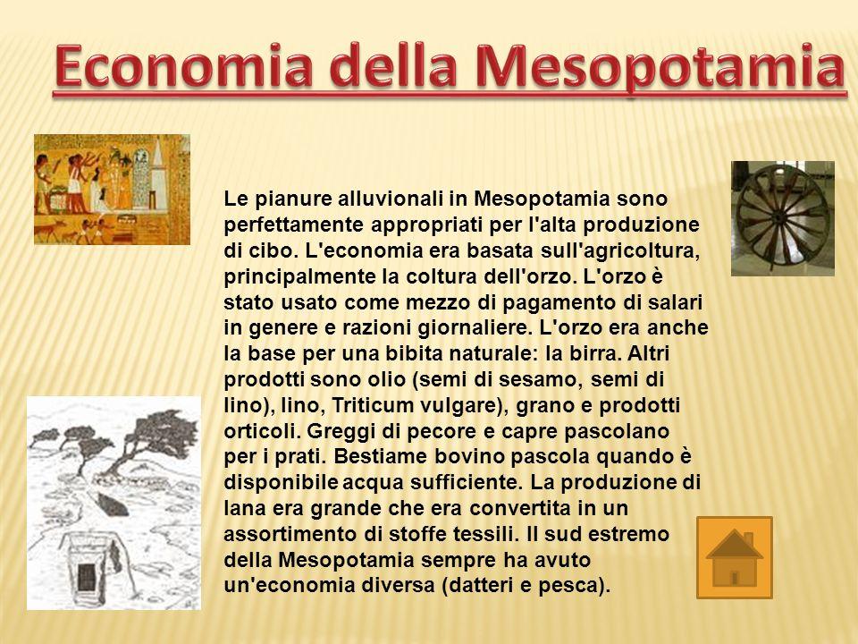 Economia della Mesopotamia