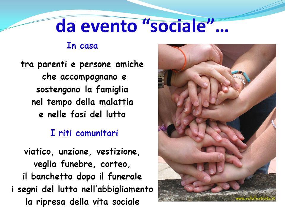 da evento sociale …