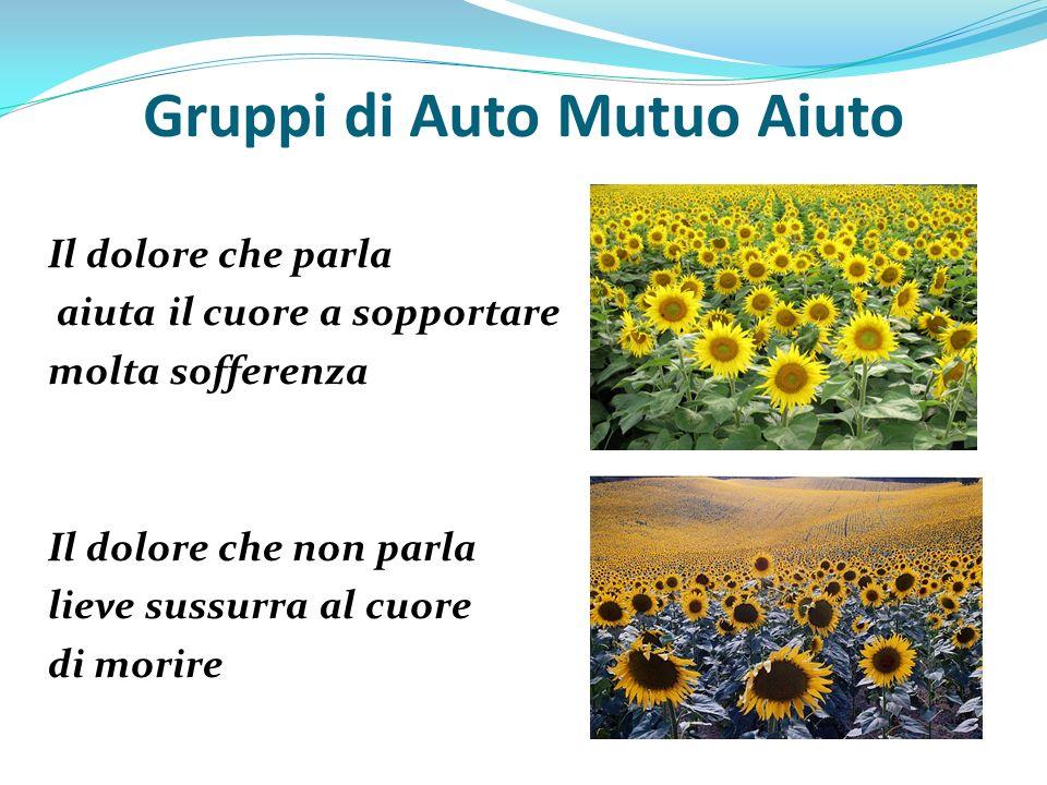 Gruppi di Auto Mutuo Aiuto