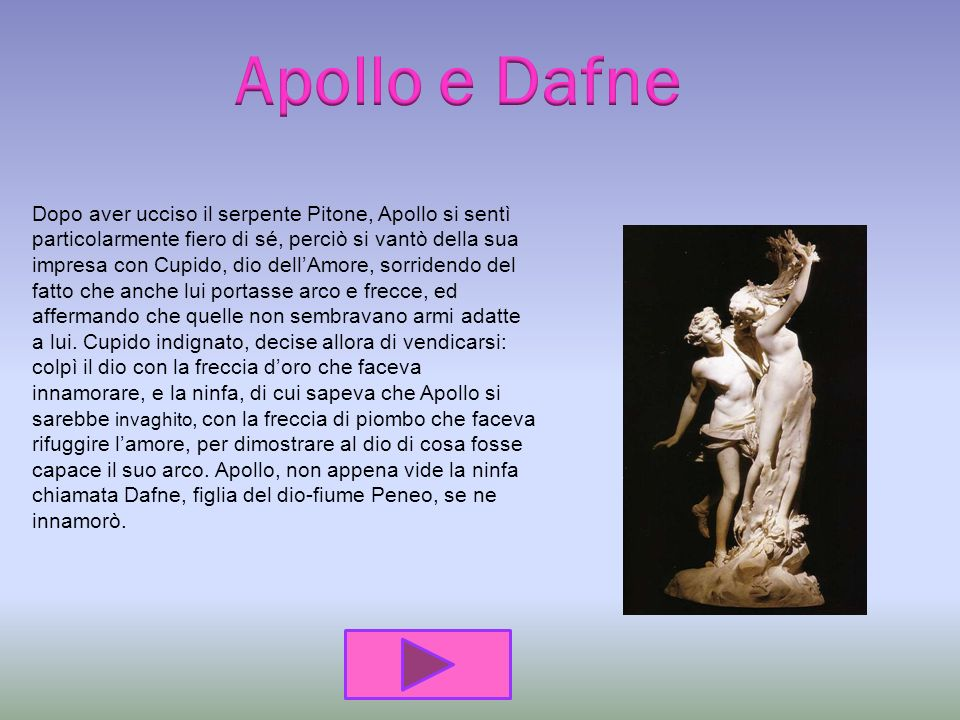 Apollo e D afne