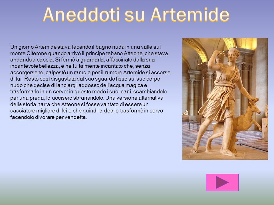 Aneddoti su Artemide