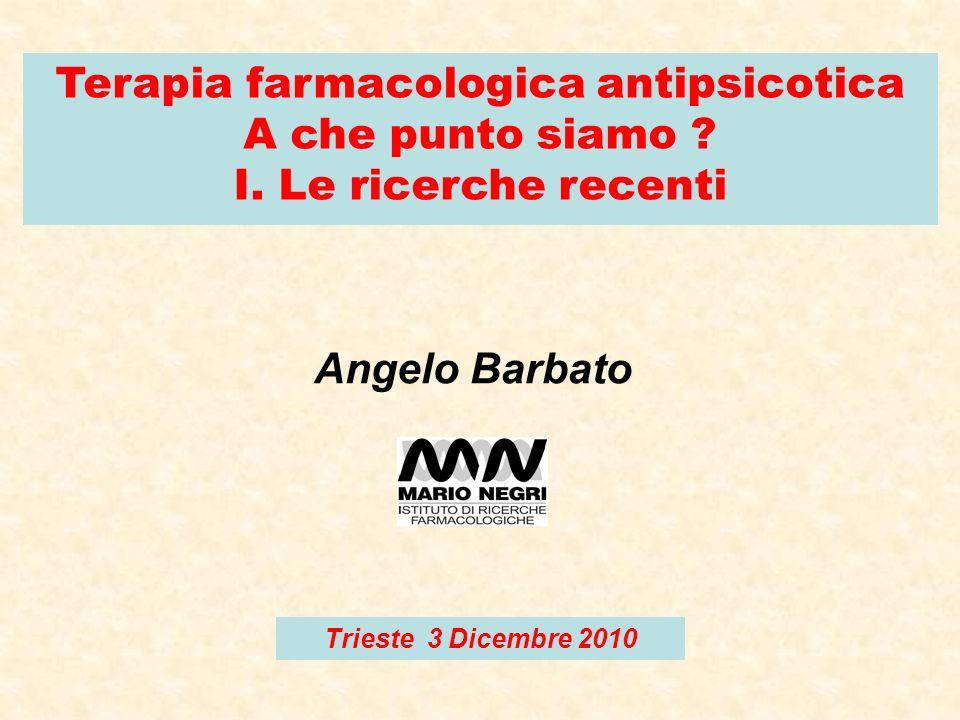 Terapia farmacologica antipsicotica