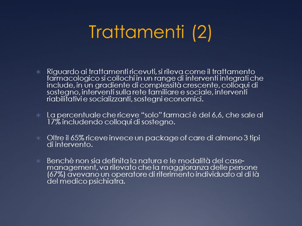 Trattamenti (2)