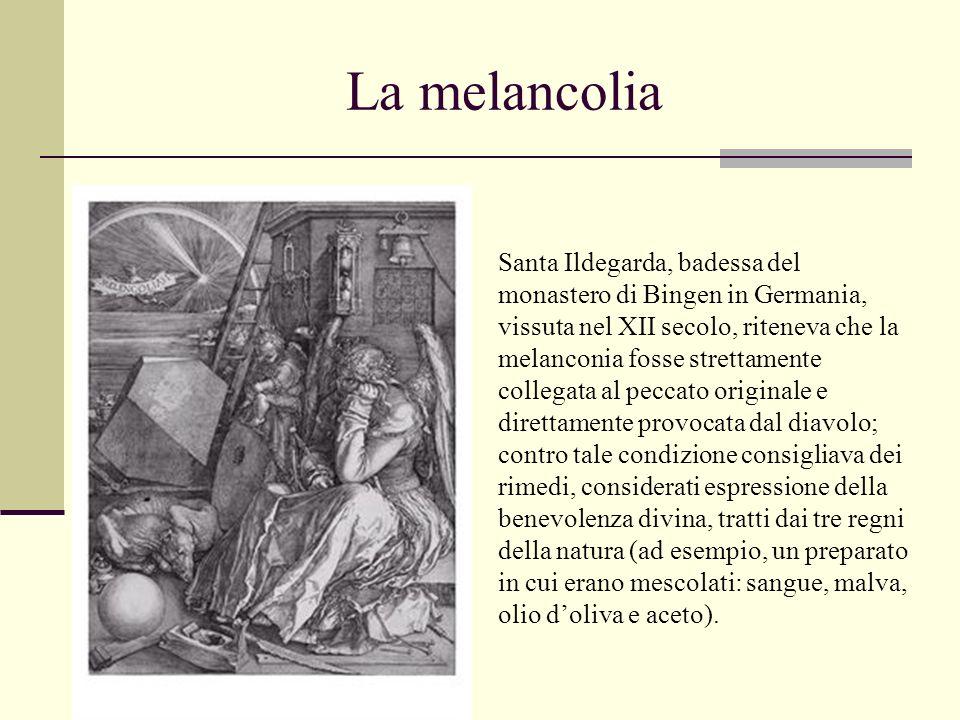 La melancolia