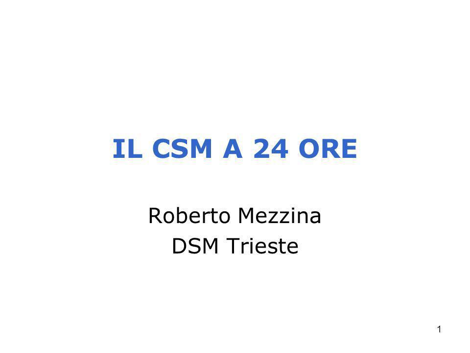Roberto Mezzina DSM Trieste