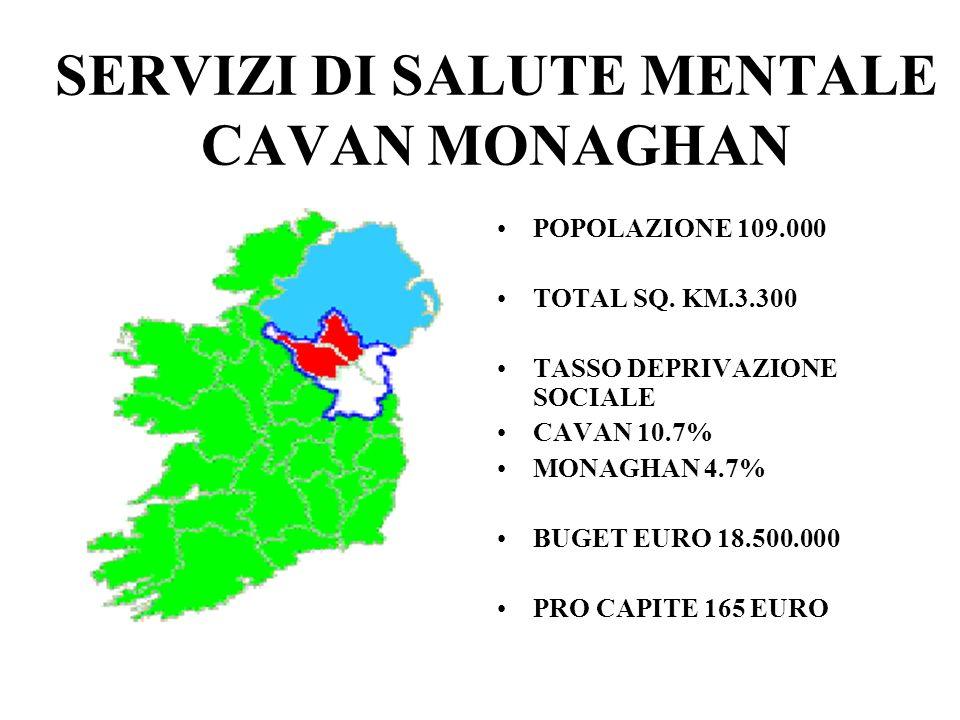SERVIZI DI SALUTE MENTALE CAVAN MONAGHAN