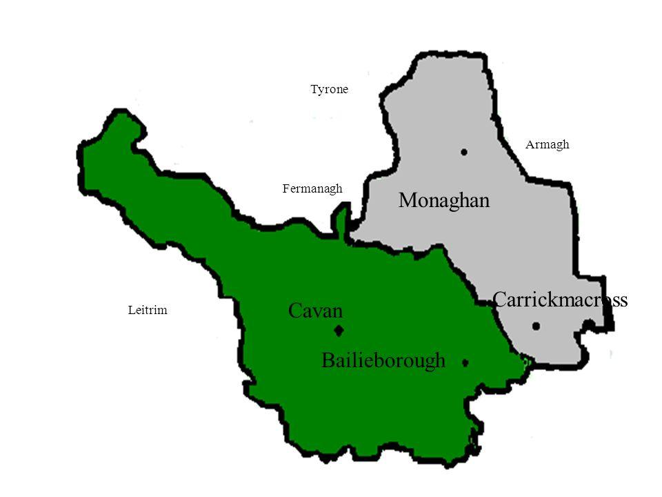 Monaghan Carrickmacross Cavan Bailieborough
