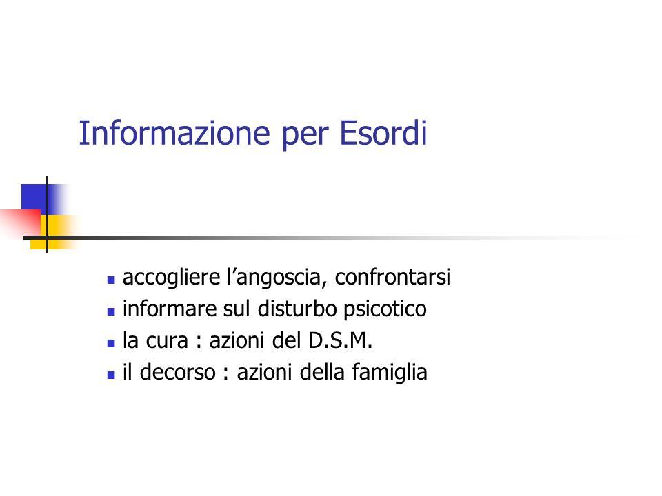 Informazione per Esordi
