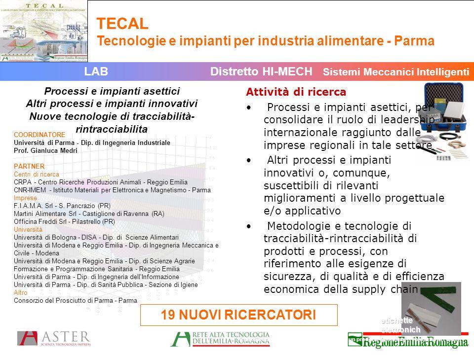 TECAL Tecnologie e impianti per industria alimentare - Parma