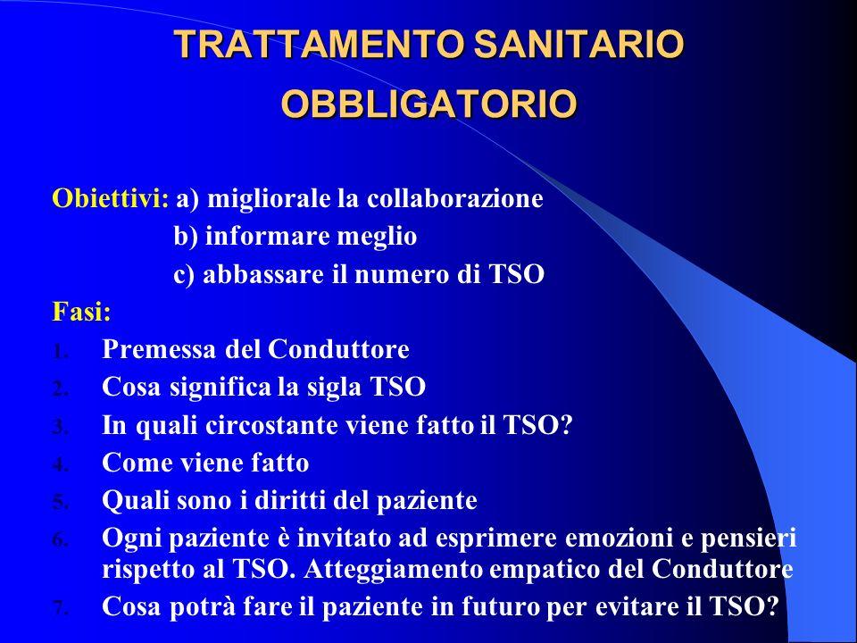 TRATTAMENTO SANITARIO OBBLIGATORIO